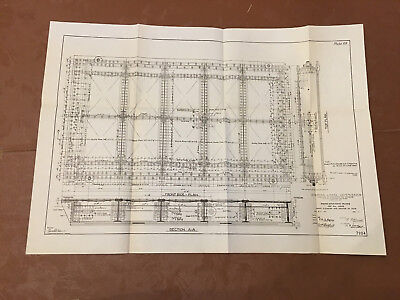 1912 Panama Canal Diagram Rising Stem Gate Valves for Locks Front Elevation