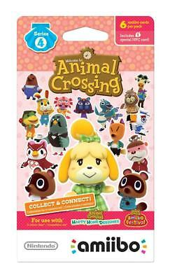 Animal Crossing Amiibo Cards Series 4 (301-400) Never Scanned