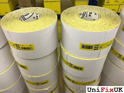 115mm x 50m Sandpaper Roll / Hand and Power KLINGSPOR  ///  40 - 320  GRIT  ///
