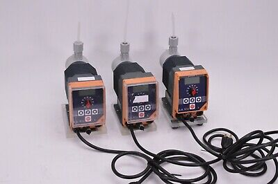 3x lot ProMinent Fluid Controls Gamma/4 chemical metering dosing pump 0.05gph