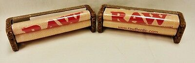 2 New RAW 79mm Cigarette Roller Rolling Machine Hemp Plastic Fits 1 1/14 Papers