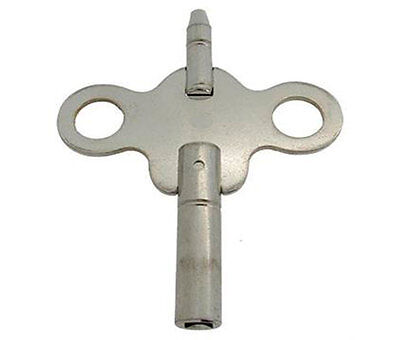 New Steel Double-ended Ansonia Carriage Clock Key,Size  - 4.25 mm & 1.75 mm