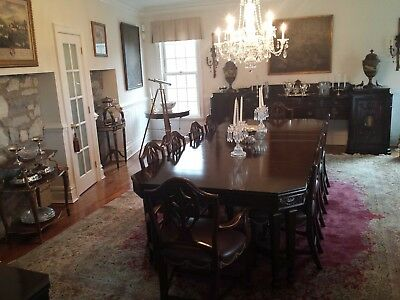 Fantastic, Magnificent And Rare High Style, High End Dining Room Set-Exc. Cond.