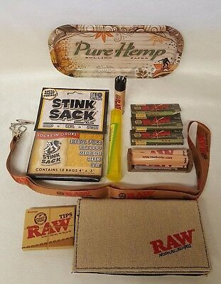 Large Bundle Raw Black Rolling Papers 1 1/4 79mm Roller Pure Hemp Tray & More