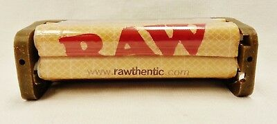 New RAW 70mm Cigarette Roller Rolling Machine Hemp Plastic Single Wide Papers