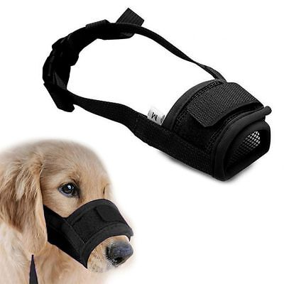Stop Bite Barking Mesh Mask Grooming Safety Accessories Training Products