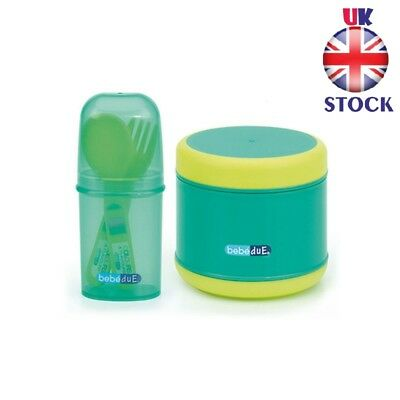 Thermos For Baby Food with Cutlery Set