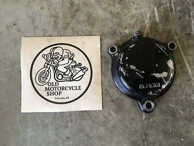 1983 Yamaha Tt600 Oil Filter Cover
