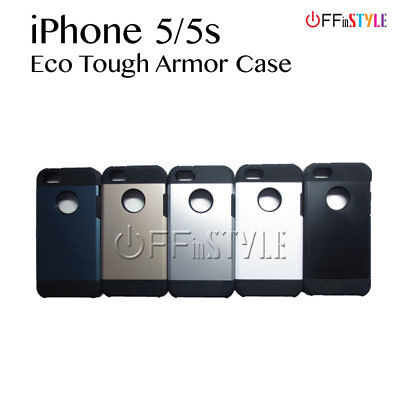 Tough Protective Armor Phone Case Stylish for iPhone 5 and iPhone 5s