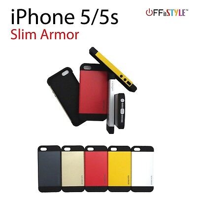 Slim Protective Armor Phone Case Stylish for iPhone 5 and iPhone 5s