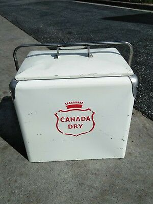 1950's CANADA DRY COOLER. A1 with tray and original plug