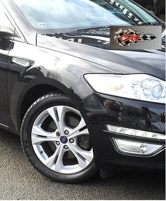 FORD MONDEO 2007-2014 Driver side Wing fully painted in PANTHER BLACK