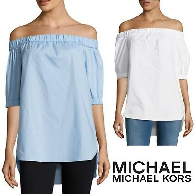 41f430434cb33 MICHAEL MICHAEL KORS Off-the-Shoulder Top Designer Women s Blouse Tunic NWT