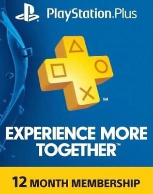 Playstation PLUS 12 Months Membership Account PS4 | NO CARD, NO CODE, WORLDWIDE