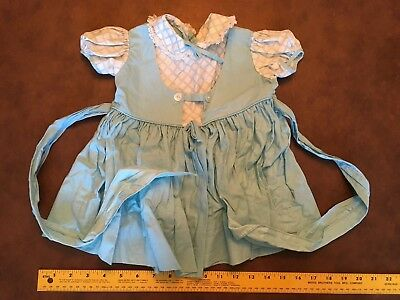 Cute Vintage Blue And White Toddler Dress
