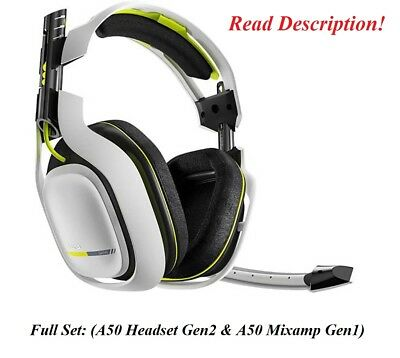 Astro Gaming A50 GEN2 Wireless Gaming Headset Xbox One PS4 PS3 PC Xbox 360 White