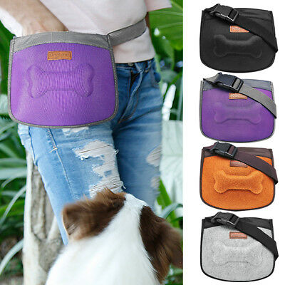 Dog Treat Pouch Training Treat Bait Bag Holder Waist Belt Snack Pocket Dispenser