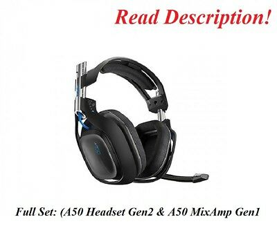 Astro Gaming A50 GEN2 Wireless Gaming Headset Xbox One PS4 PS3 PC Xbox 360 Blue