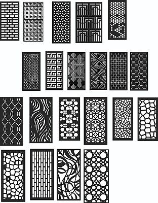 DXF of PLASMA Laser Cut -CNC Vector DXF-CDR - AI  Art file 20 ITEMS