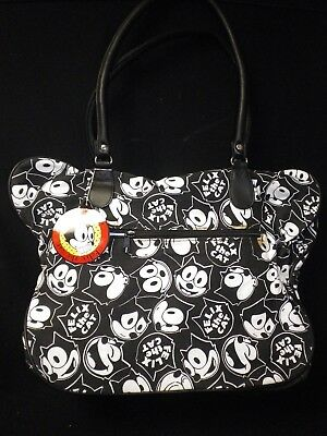 "18"" x 13"" Printed Felix the Cat Zippered Bag"