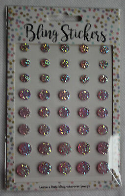 Bling Stickers rosa