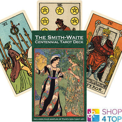 Smith-Waite Centennial Tarot Deck Cards Esoteric Telling Us Games Systems