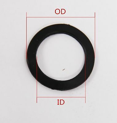 159A 48mm Rubber O-Ring Gaskets Washer 2mm Thick Select Size ID 38mm