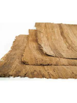 """Lot of 100 Blank Egyptian Hand Made Dark Papyrus A4 12""""x 8.25"""" (30 x 21cm)"""