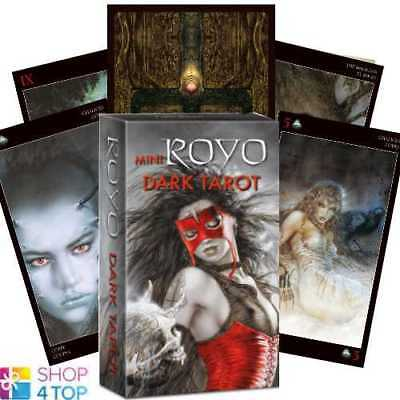 Mini Royo Dark Tarot Cards Deck Esoteric Fortune Telling Lo Scarabeo New