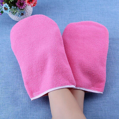 1Pair Heat Preservation Paraffin Hot Wax Hand Foot Protection Beauty Care Gloves