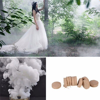 1 Box Smoke Cake White Smoke Effect Show Photography Aid Toy Divine Party Decor