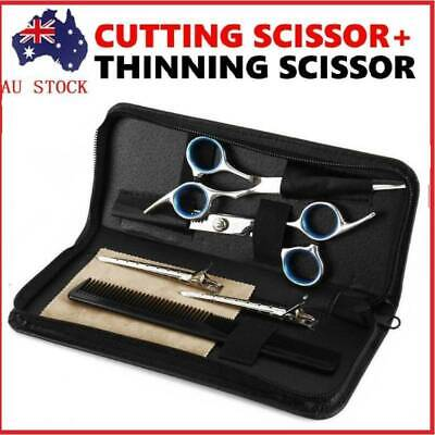 "6PCS 6"" Pro Hairdressing Scissors Set/Kit Hair Cutting Barber Cutting Thinning"