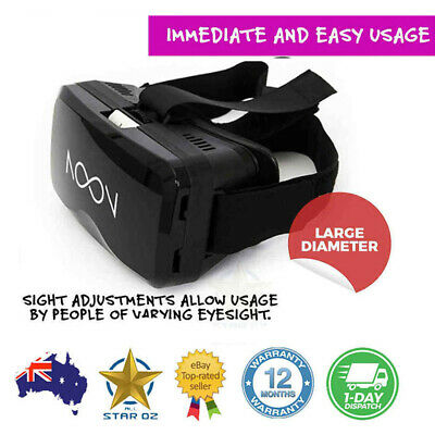 VR Headset Virtual Reality Glasses Googles 3D Display for Smartphone NOON