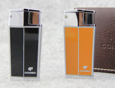 Special design COHIBA Cigar Cigarette Metal Lighter 3Torch Jet Flame Random ship