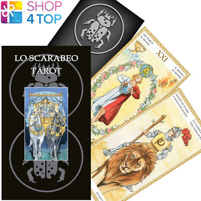 Lo Scarabeo Tarot Deck Cards Lazzarini Multilingual Esoteric Telling New