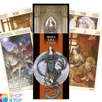 Mona Lisa Tarot Deck Cards Esoteric Fortune Telling Lo Scarabeo New