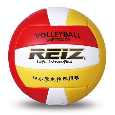 REIZ PU Volleyball Professional Soft Volleyball Indoor & Outdoor Training BallSU