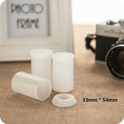 Plastic Empty Bottle 33mm Film Cans Storage canisters Containers Box Paint Pots