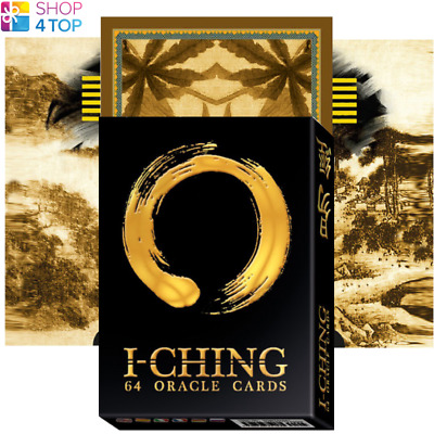 I Ching Oracle Cards Deck Lunaea Weatherstone Esoteric Telling Lo Scarabeo New