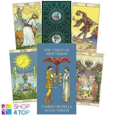 New Vision Mini Tarot Cards Deck Cestaro Gianluca Esoteric Lo Scarabeo New