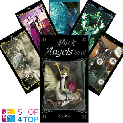 Tarot Of Dark Angels Deck Cards Russo Esoteric Fortune Lo Scarabeo New