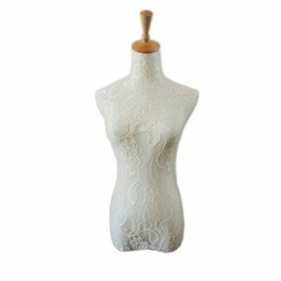 Nude Flesh Lace Mannequin Cover Model Dummy Top Cloth Manneq for S and M size