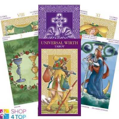 Universal Wirth Tarot Deck Cards Esoteric Fortune Telling Lo Scarabeo New