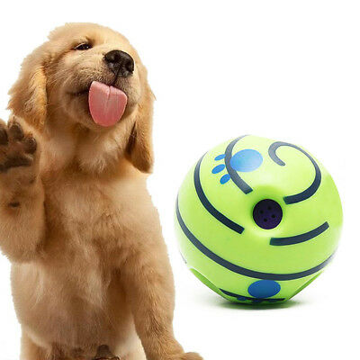 Wobble Wag Giggle Ball Dog Play Training Pet Toys With Funny Sound  No Harm Hot