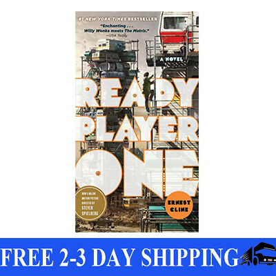 Ready Player One: A Novel by Ernest Cline, Paperback, 2012, New, Free Shipping
