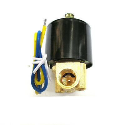 1/4 Inch Solenoid Valve 12V DC Electric Air Water Gas Oils Normally Closed NPT