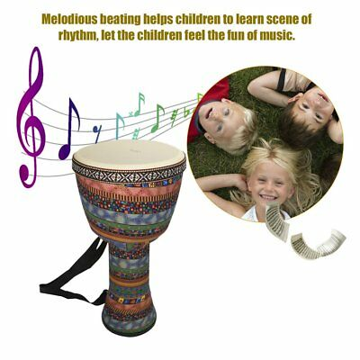 Orff World 8 inch Djembe Percussion Musical Instrument African Hand Drum SU
