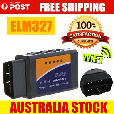 2018 ELM327 WIFI OBD2 OBDII Car Diagnostic Scanner Scan Tool for iOS Android AU