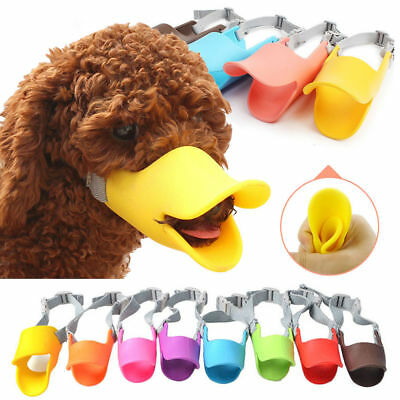 Dog Face Mask Muzzle Mouth Anti-bite Duck Silicone Anti-called Cover Shape