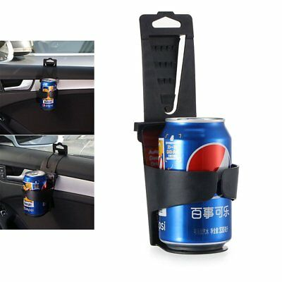 Black Cup Holder Car Storage Drinking Bottle Can Mug Mount Stand Universal New